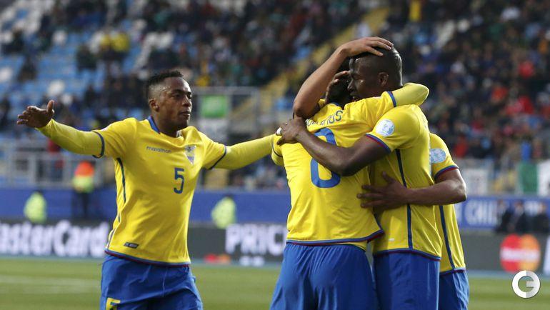 эквадор футбол 2015 таблица