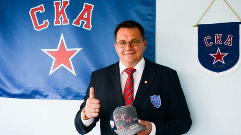 Андрей НАЗАРОВ - новый главный тренер СКА. Фото ХК СКА