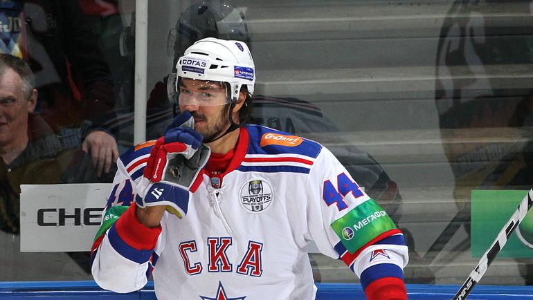 Нападающий Евгений АРТЮХИН вернулся в СКА. Фото photo.khl.ru