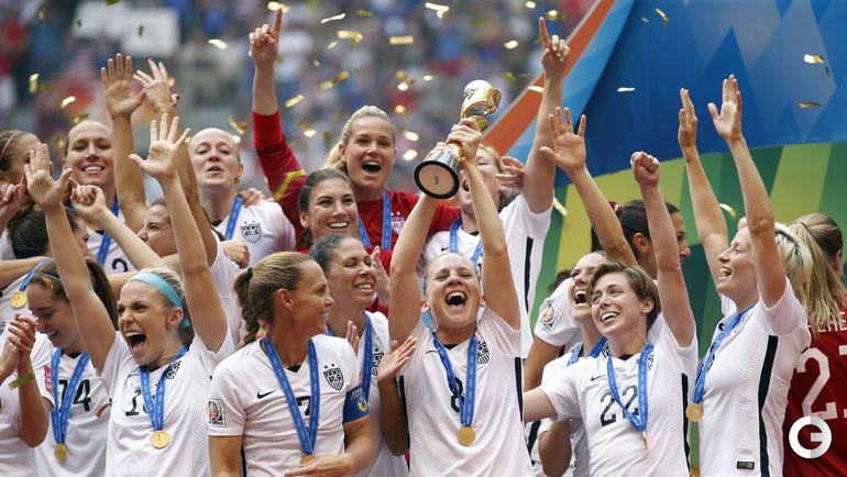 Сборная США выиграла чемпионат мира.