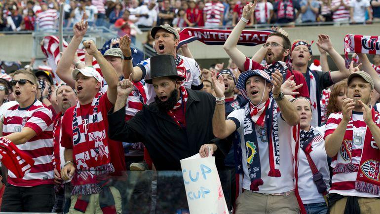 Финал Золотого кубка-2013 в Чикаго принес США 5-й титул против 6 у Мексики. Фото AFP