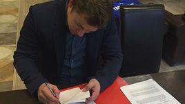 Тарасенко подписал 8-летний контракт с