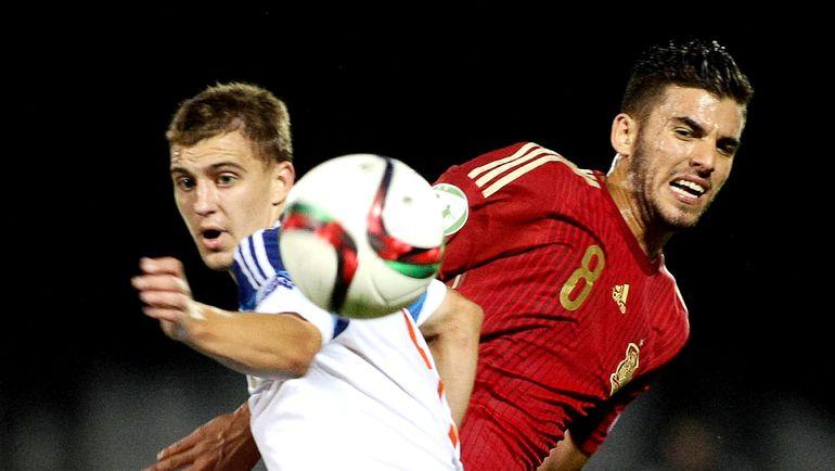 Сборная России проиграла Испании в финале юношеского Euro-2015 (Видео)