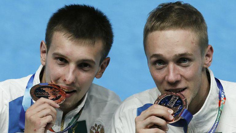 Роман ИЗМАЙЛОВ и Виктор МИНИБАЕВ – бронзовые призеры домашнего чемпионата мира. Фото REUTERS