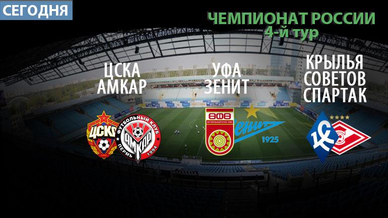 Прогнозы на 4-й тур Премьер-Лиги - Чемпионат