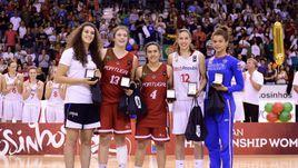 Камилла Огун попала в символическую пятерку юниорского чемпионата Европы, выигранного Чехией