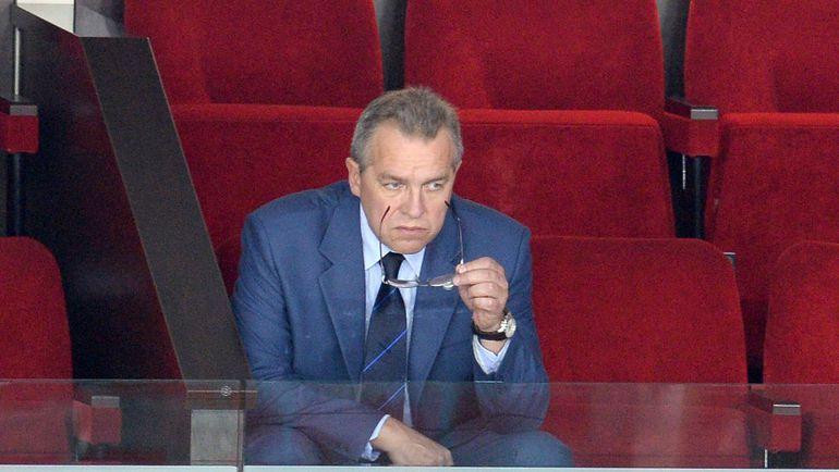 Владимир БЕРЕЖКОВ. Фото Владимир БЕЗЗУБОВ, photo.khl.ru