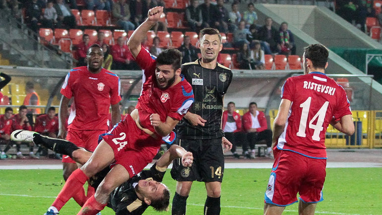 251. Rubin Kazan (RUS) - FK Rabotnički (MKD) 1:0