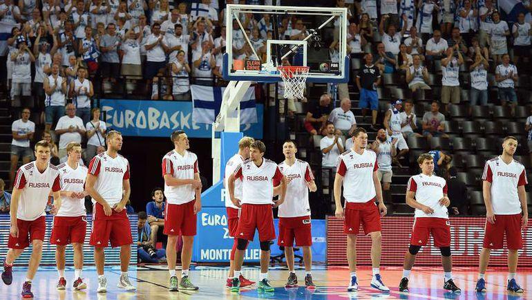 Мужская сборная России лишилась шансов отобраться на Олимпийские игры в Рио-де-Жанейро. Фото AFP