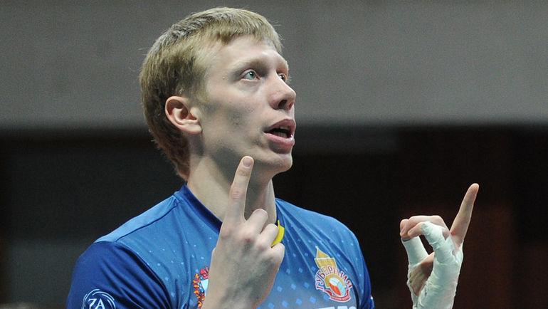 """Никита ЛЯМИН до прихода в пляжный волейбол играл за """"Губернию"""". Фото Никита УСПЕНСКИЙ, """"СЭ"""""""