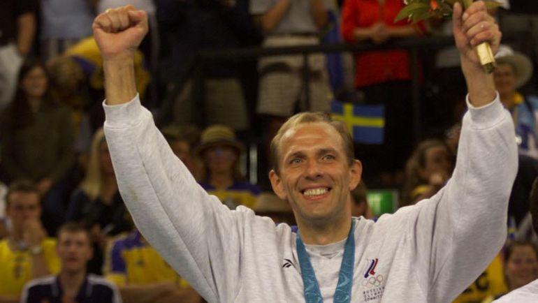1 октября 2000 года. Сидней. Андрей ЛАВРОВ - трехкратный олимпийский чемпион! Фото Александр ВИЛЬФ
