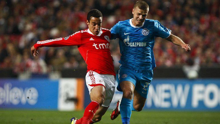 Benficas zenit late show wins quarter-final spot