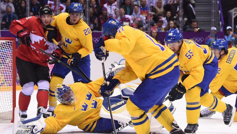 Швеция - финалист олимпийского турнира Сочи-2014. Фото AFP