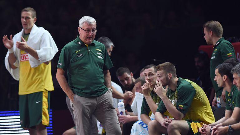 Сборная Литвы остановилась в шаге от титула. Фото AFP