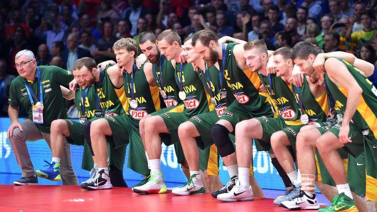 Испания – Литва – 80:63. Фото AFP
