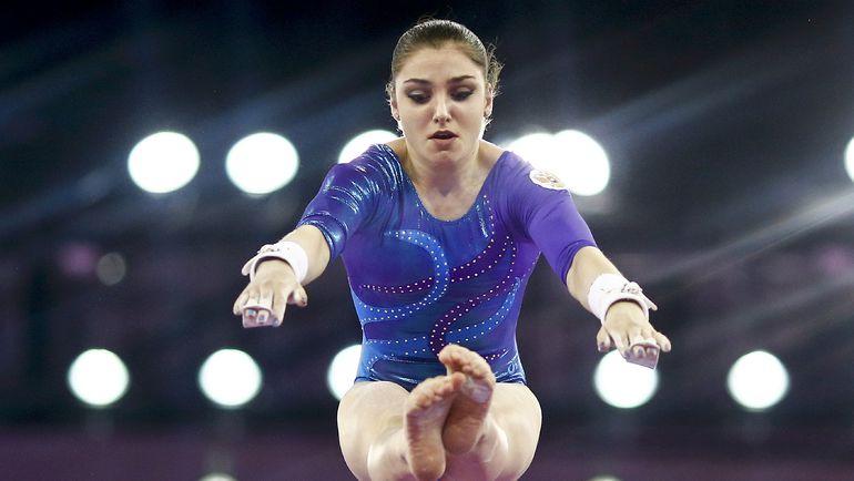 Алия МУСТАФИНА во время выступления на Европейских играх в Баку.