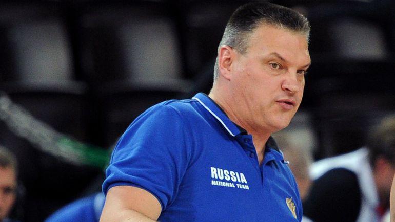 Главный тренер сборной России Евгений ПАШУТИН. Фото AFP