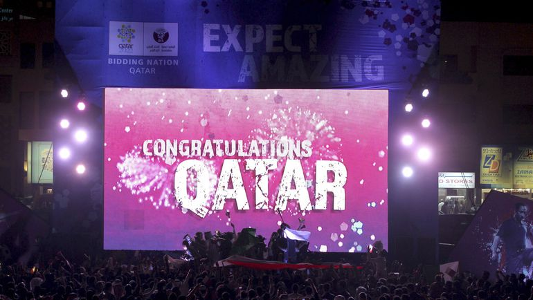 ЧМ-2022 в Катаре состоится осенью и зимой. Фото REUTERS