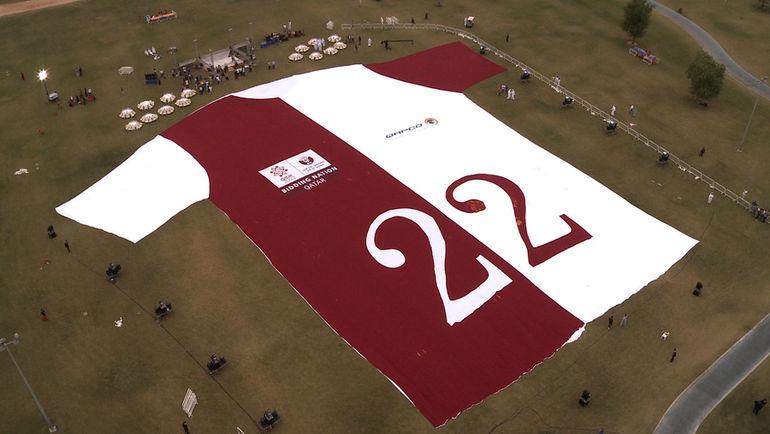 2010 год. Доха. В Катаре праздник - ЧМ-2022 пройдет в этой стране. Фото AFP