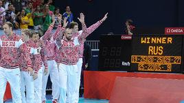 Мужская сборная России - олимпийский чемпион Лондона-2012.