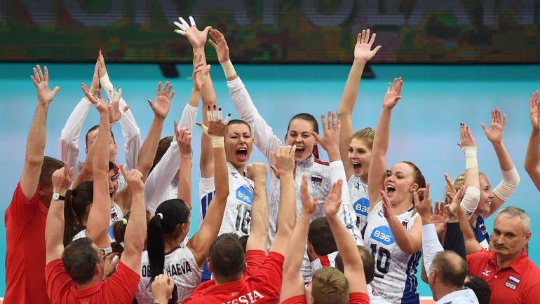 Воскресенье. Роттердам. Россия - чемпион! Фото AFP