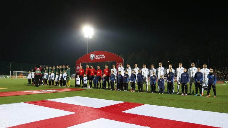 На родине футбола весьма скромные ожидания от главной команды страны. Фото REUTERS