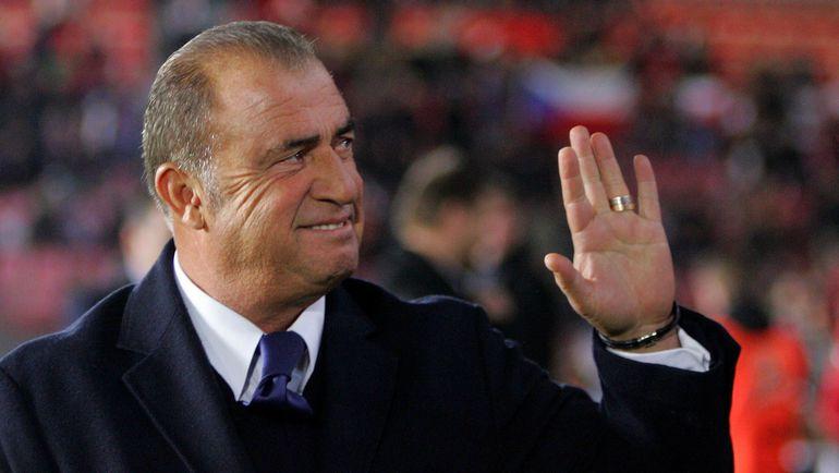 Главный тренер сборной Турции Фатих ТЕРИМ. Фото AFP