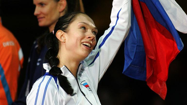 Сборная России: чемпионка мира (2006, 2010). Фото Сергей КИВРИН