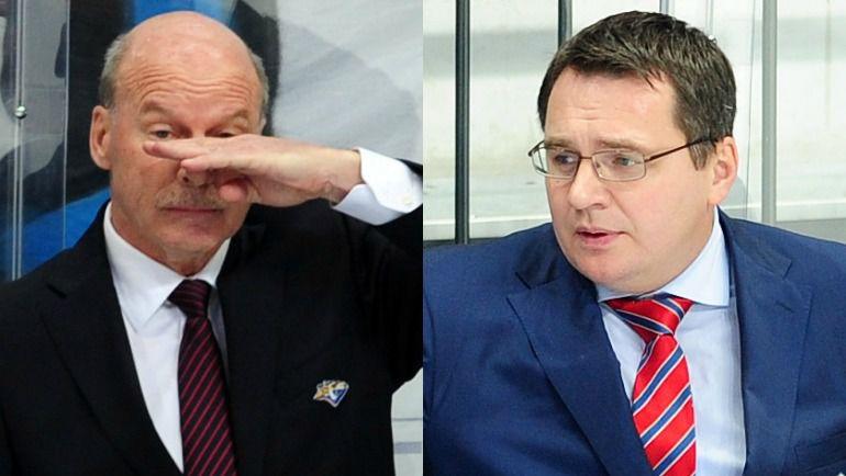 Майк КИНЭН и Андрей НАЗАРОВ.