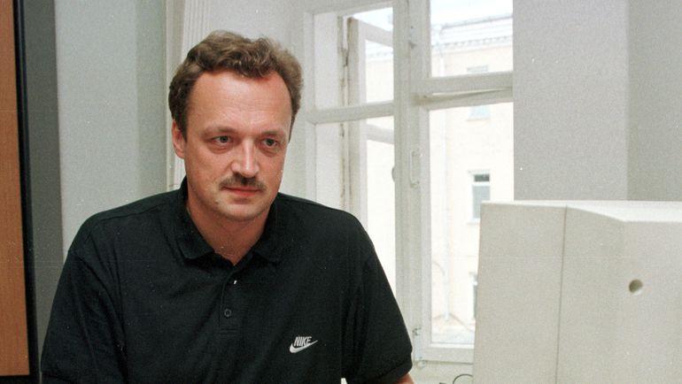 1999 год. Виктор ГУСЕВ. Фото Дмитрий СОЛНЦЕВ