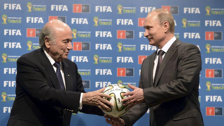 ЧМ-2018, чемпионат мира, Йозеф Блаттер, ФИФА