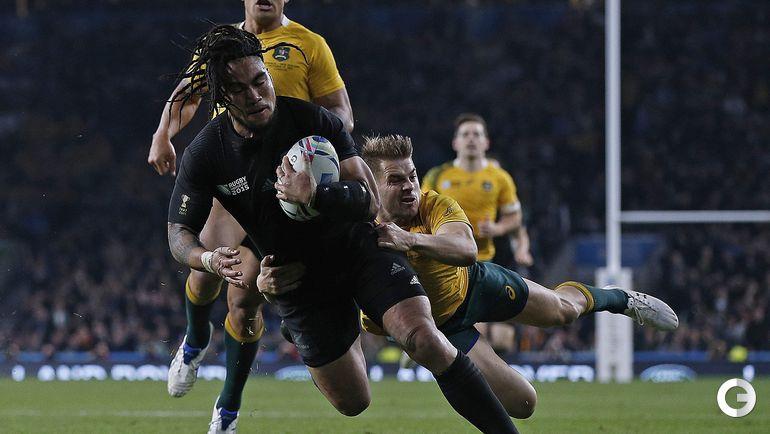 31 октября. Лондон. Новая Зеландия – Австралия – 34:17. Фото AFP