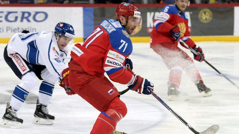 Россия стартовала на «Кубка Карьяла» с поражения от Финляндии (Видео)