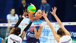 Российские красавицы разгромили француженок в Лиге чемпионов