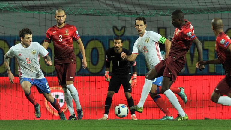 7,0 - Широкову за гол португальцам