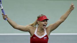 Шарапова вывела Россию вперед в финале Кубка федерации