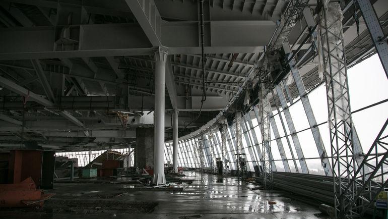 Среда. Санкт-Петербург. Строительство стадиона на Крестовском острове. Фото Кристина КОРОВНИКОВА