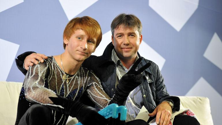 Алексей УРМАНОВ (справа) с Жаном БУШЕМ. Фото Ксения НУРТДИНОВА