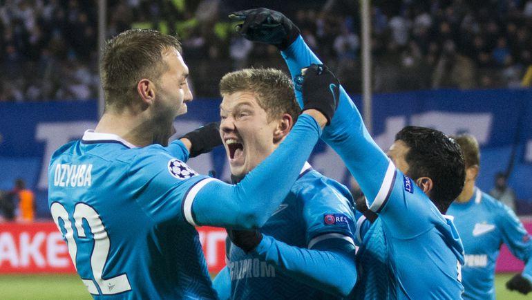 Российский клуб впервые за 20 лет стал первым в группе Лиги чемпионов
