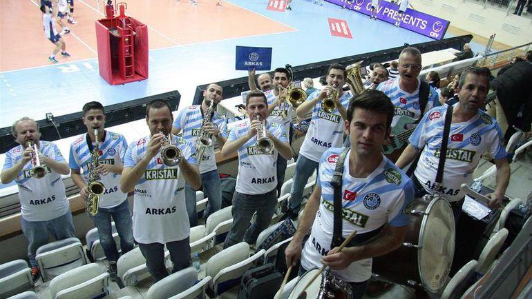 """1 декабря с """"Аркашем"""" в Измире должны сыграть волейболисты """"Белогорья"""". Фото cev.lu"""