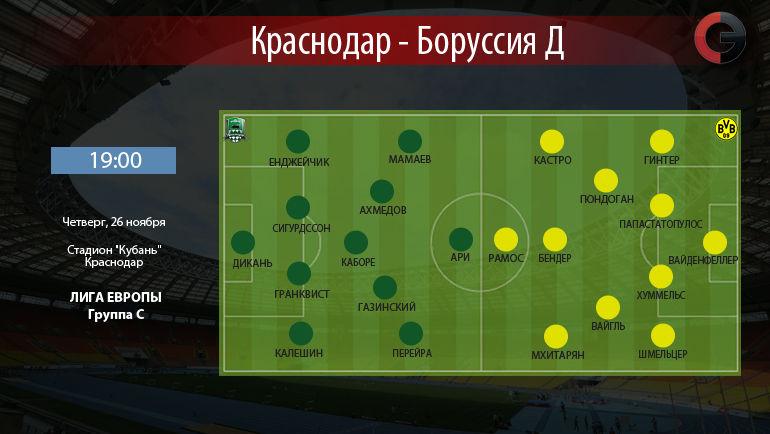"""""""Краснодар"""" vs """"Боруссия"""". Фото """"СЭ"""""""
