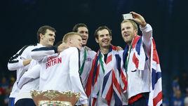 Сборная Великобритании - обладатель Кубка Дэвиса