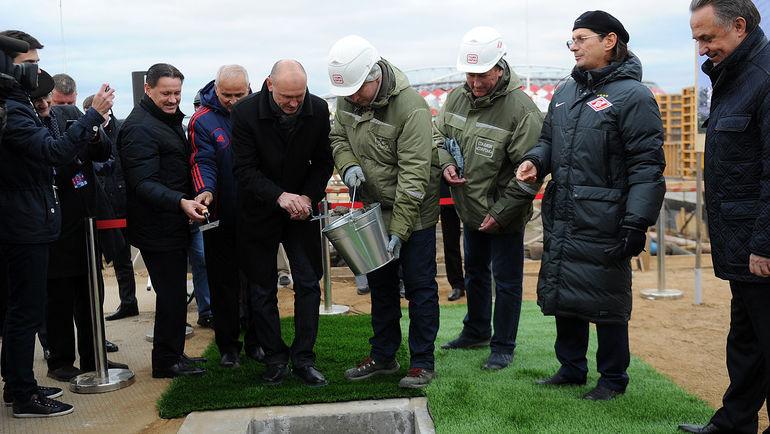 Дмитрий Аленичев, Сергей Родионов и Леонид Федун