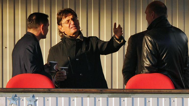 Дмитрий Аленичев и Леонид Федун