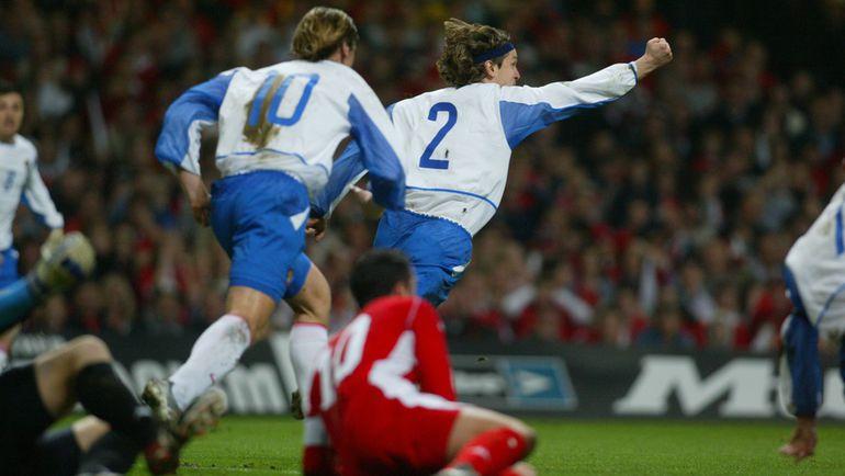 19 ������ 2003 ����. �������. ����� - ������ - 0:1. 21-� ������. ������� ������ ������� - ��� ��� ����� ������ �� Euro-2004