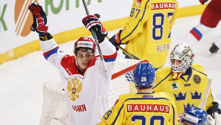 Хоккейные сборные Российской Федерации иШвеции откроют Кубок Первого канала