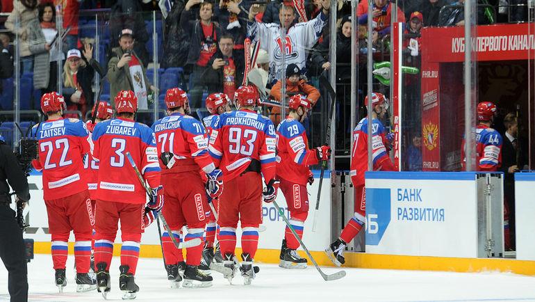 Россия разгромила Финляндию на Кубке Первого канала