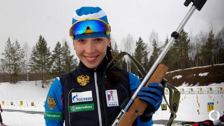 Ульяна КАЙШЕВА (Россия). Фото biathlonrus.com