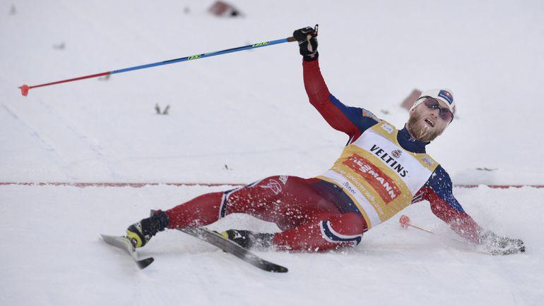 В Руке, где открывали свой кубковый сезон лыжники, проблем со снегом не наблюдалось. Фото REUTERS