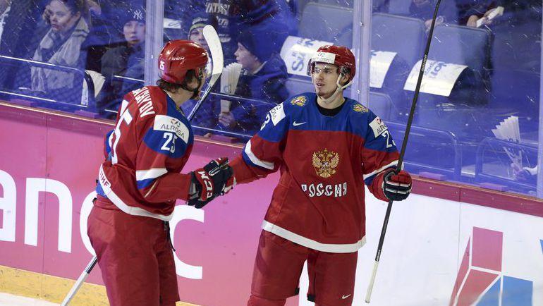 26 декабря. Хельсинки. Чехия - РОССИЯ - 1:2 Б. Александр ДЕРГАЧЕВ и Артур ЛАУТА.